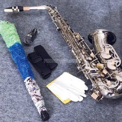 Kèn alto saxophone Yamaha màu trắng Mk007