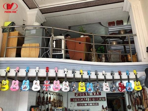 Cửa hàng bán đàn guitar ukulele quận Bình Thạnh