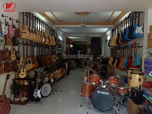 Cửa hàng nhạc cụ Phong Vân tại quận Tân Phú Tphcm