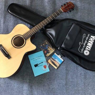 Đàn guitar acoustic G-Danube GDV03G thùng khuyết