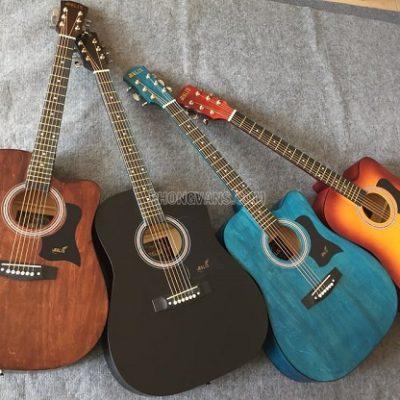 Đàn guitar acoustic Molin 4 màu giá rẻ