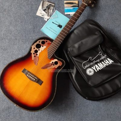 Đàn guitar acoustic Ovation Chard gắn EQ
