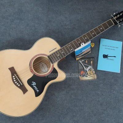 Đàn guitar acoustic Rosen R135 dáng khuyết 40in