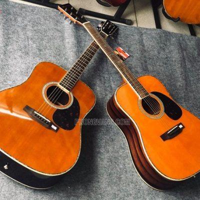 Đàn guitar gỗ cẩm Ấn Morris W50 solid