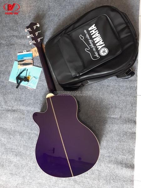 Đàn guitar thùng gỗ hãng Tagima màu tím