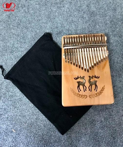 Đàn kalimba gỗ 17 phím nhiều hình đẹp
