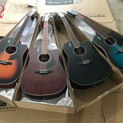 Bán sỉ đàn Guitar chính hãng Rosen G11 gỗ thịt mahogany top solid