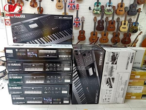Bán sỉ đàn organ Yamaha Psr E463 và E273 giá tốt