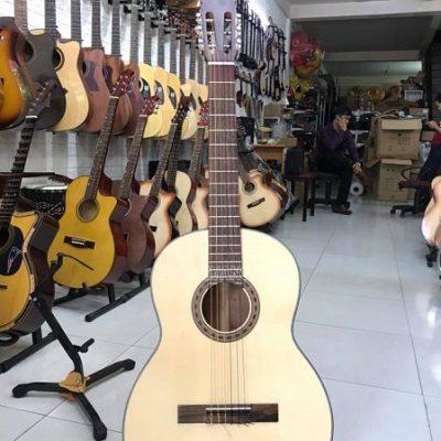 Đàn guitar classic hồng đào có ty chỉnh cần
