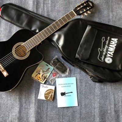Đàn Guitar classic thùng mỏng Aria có EQ