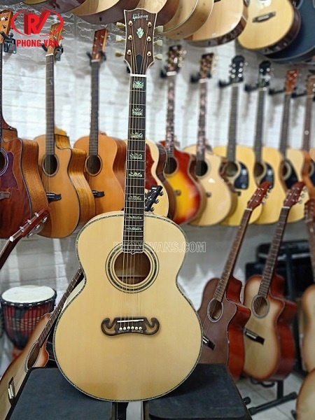 Đàn guitar Gibson dáng Jumbo gỗ Maple European