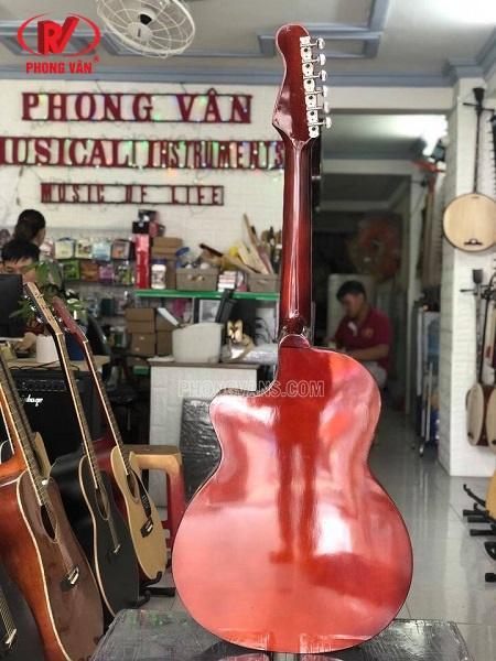 Đàn guitar thùng cổ nhạc phím lõm DVC02