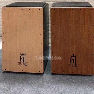 Trống cajon gỗ hiệu HT music