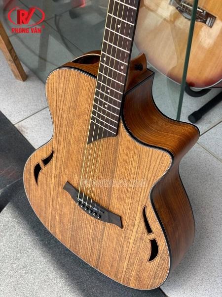 Đàn guitar acoustic hãng Dance gỗ óc chó walnut
