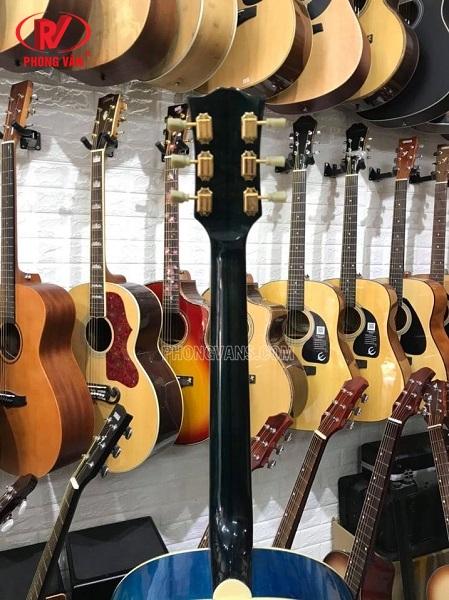 Đàn guitar acoustic hãng Gibson Usa gỗ mahogany cẩm ấn