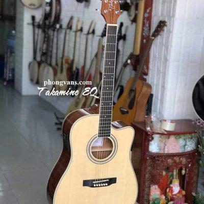 Đàn guitar acoustic Takamine EQ ED334C gỗ mahogany
