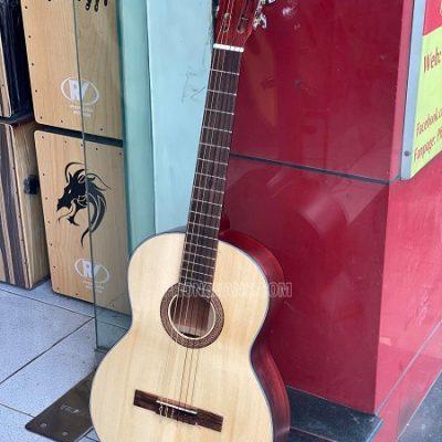 Đàn guitar classtic hồng đào có ty size 39