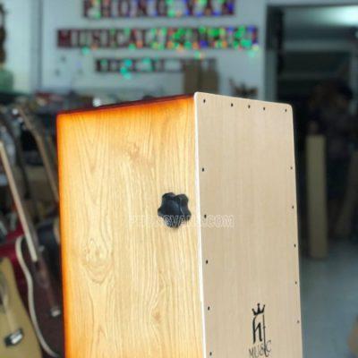 Trống cajon gỗ sồi có EQ núm chỉnh snare