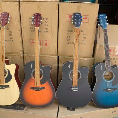 Bán sỉ buôn guitar Rosen có EQ LC5 micro
