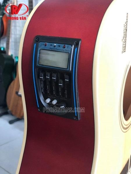Đàn guitar acoustic Rosen G11 gắn EQ LC5 có micro