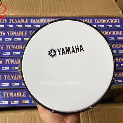 Trống lục lạc gõ bo Yamaha mặt trắng đục