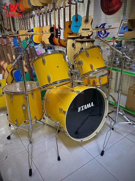 Bộ dàn trống Jazz Tama màu vàng cao cấp