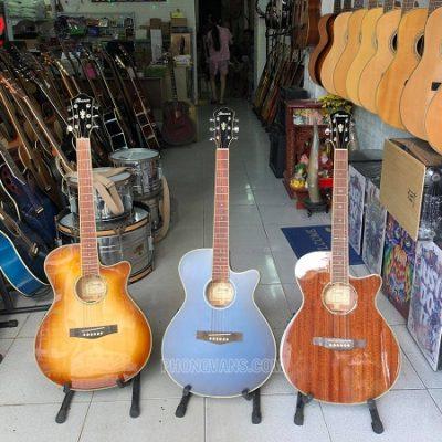 Đàn guitar hãng Ibanez có EQ fishman