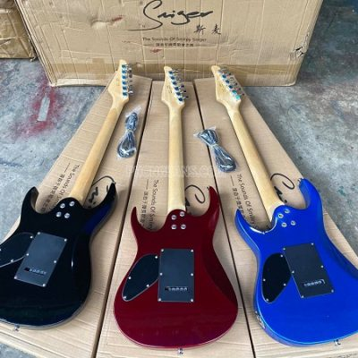 Đàn Guitar điện solo 5 mobin hãng Saiger S-G5