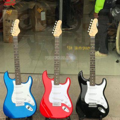 Đàn guitar điện solo hiệu Saiger L-G1-GBL