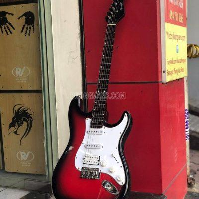 Đàn guitar điện tân cổ phím lõm Fender 4 mobin