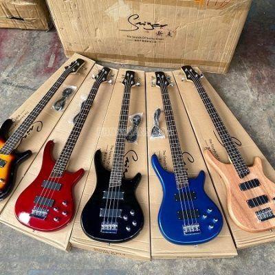 Bán sỉ lẻ đàn guitar điện Bass hãng Saiger G-B3-4