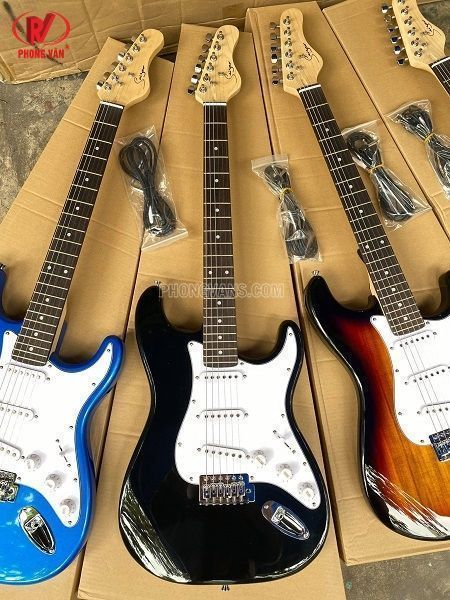 Bán sỉ lẻ Đàn guitar điện hãng Saiger 3 mobin L-G1-ST