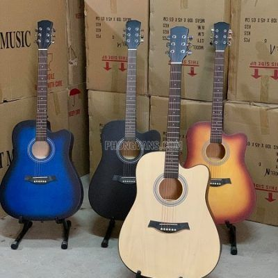 Bán Sỉ đàn guitar gỗ ép size 41 nhiều màu