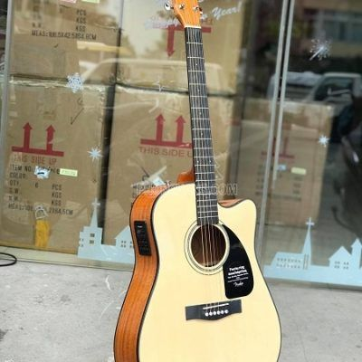 Bán sỉ lẻ đàn guitar acoustic Fender CD-60CE gỗ mahogany