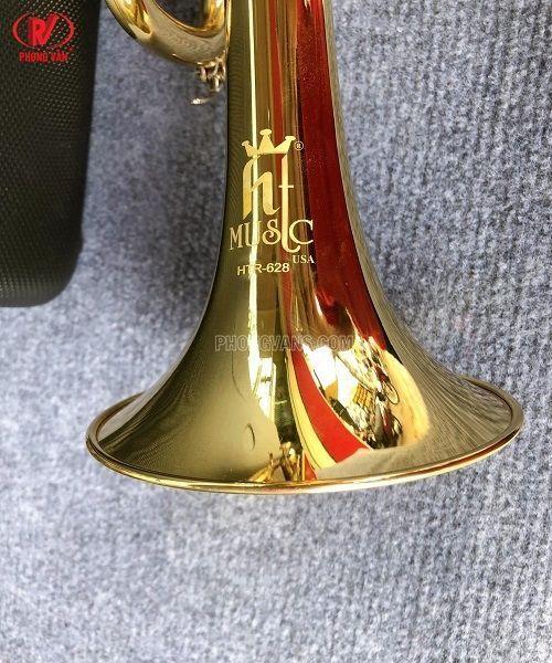 Bán sỉ lẻ kèn Trumpet hãng HTmusic màu vàng HTR-628