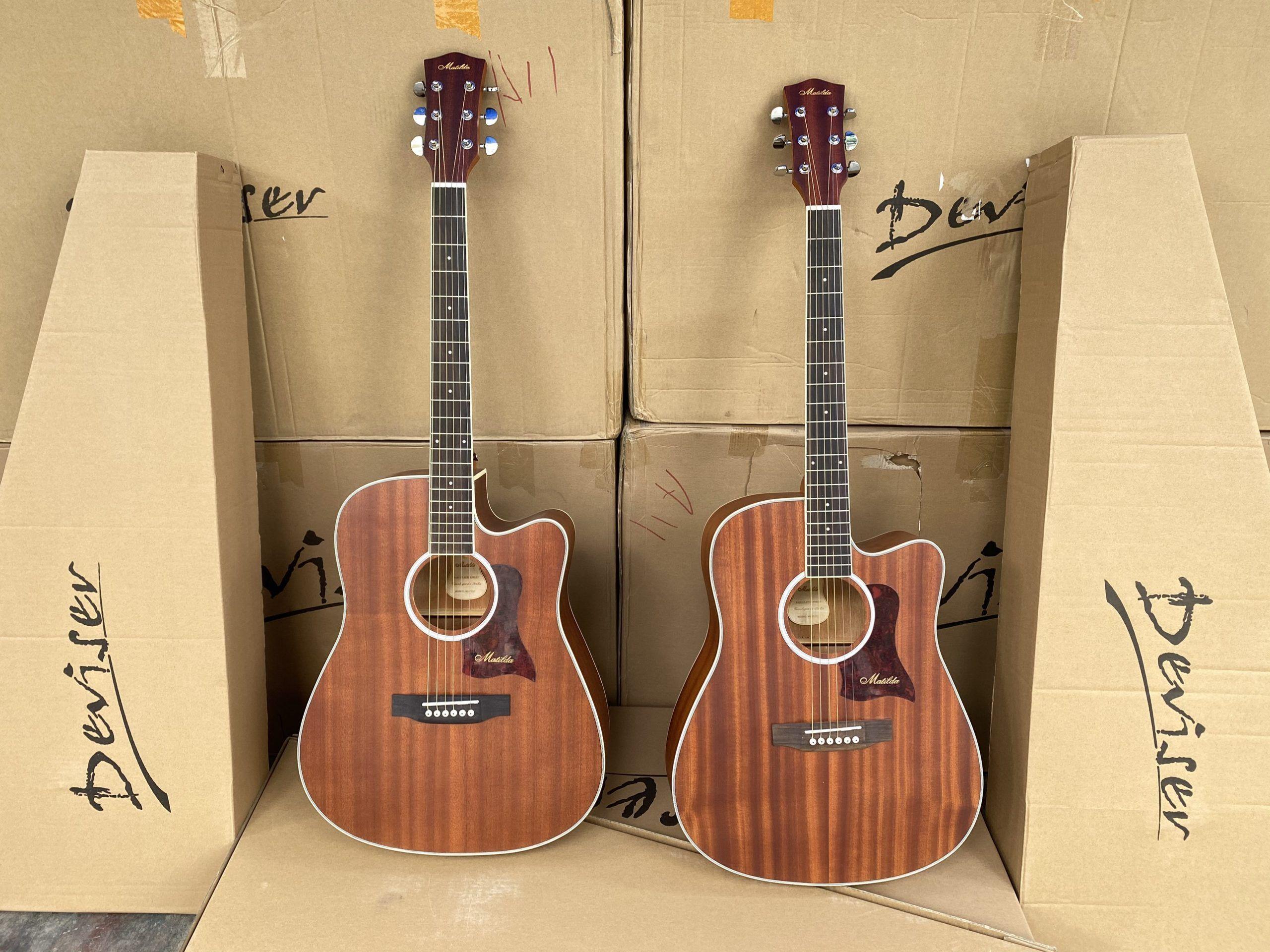 Bán sỉ guitar acoustic Matilda M5-Plus chính hãng