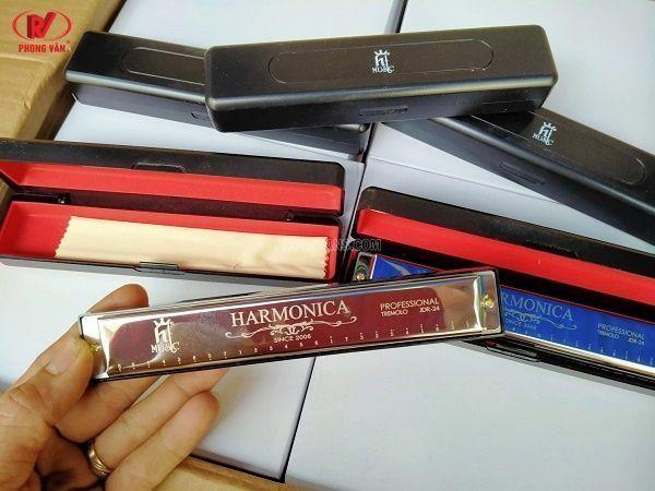 Bán sỉ Kèn Harmonica HT MUSIC 24 lỗ