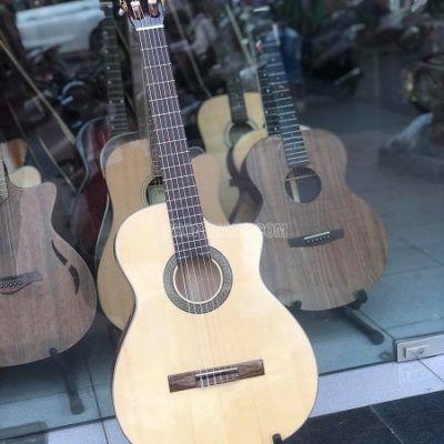 Đàn guitar classic gỗ còng cườm dáng khuyết cao cấpdata-cloudzoom =