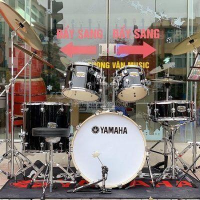 Dàn trống nhạc cơ Yamaha màu đen cao cấpdata-cloudzoom =
