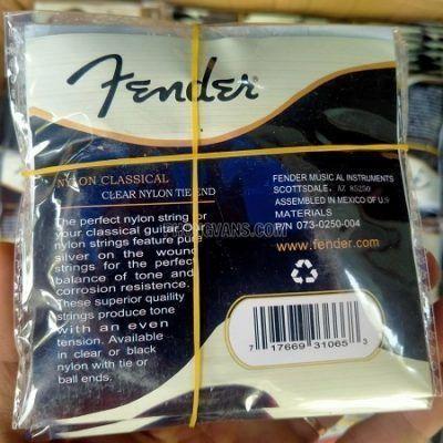 Bán sỉ dây đàn classic nylon Fender và Yamaha giá rẻ