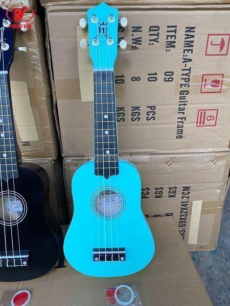 Bán sỉ đàn ukulele gỗ nhiều màu sắc HT MUSIC