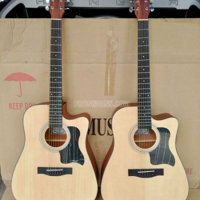 Bán sỉ Guitar HT MUSIC acoustic gỗ mahogany size 41in