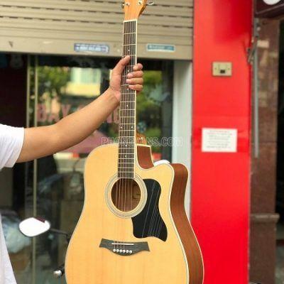 Đàn guitar acoustic chính hãng HT MUSIC gỗ mahogany
